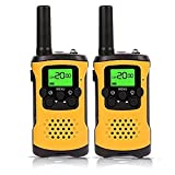 TOOGOO Kids Walkie Talkies, 22-Channel FRS/GMRS Radio, 4-Mile Range Two Way Radios with Flashlight and LCD Screen.