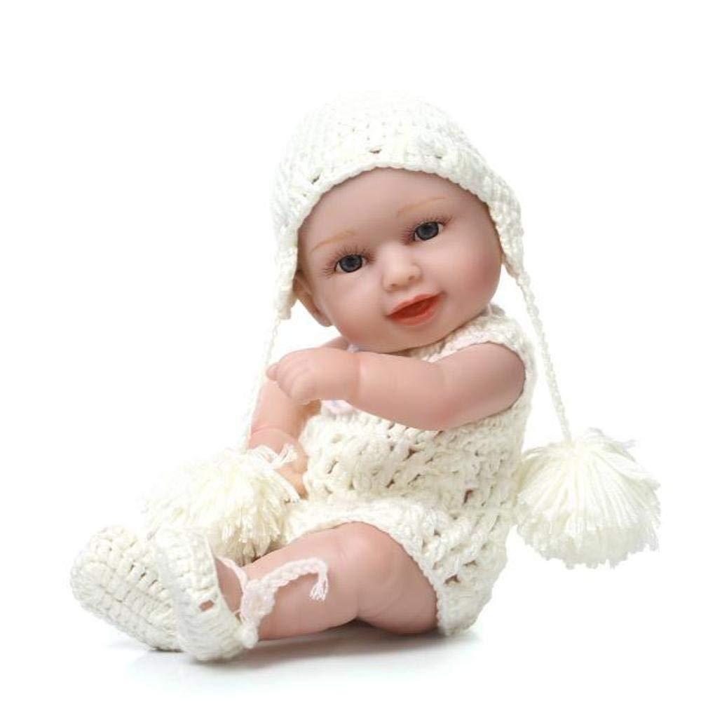 Hongge Reborn Baby Doll,Mini süße süße süße lebensechte Reborn Baby Puppe 27cm 813b92