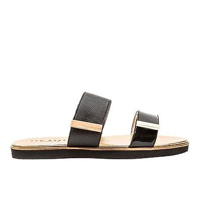 d236aaa79 Ted Baker Womens Maiwen Sandals - Black Gold