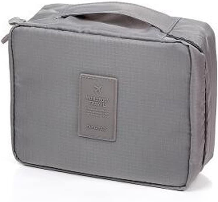 Movona Packing Cubes Travel Luggage Organizer Storage Bags Compression Pouches Grey