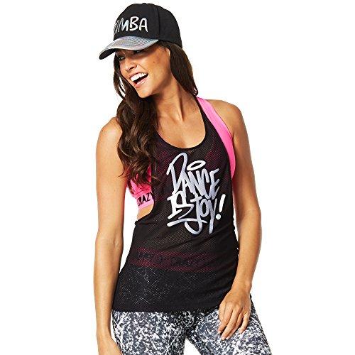Zumba Fitness Dance Is Mesh - Camiseta sin mangas para mujer Plata