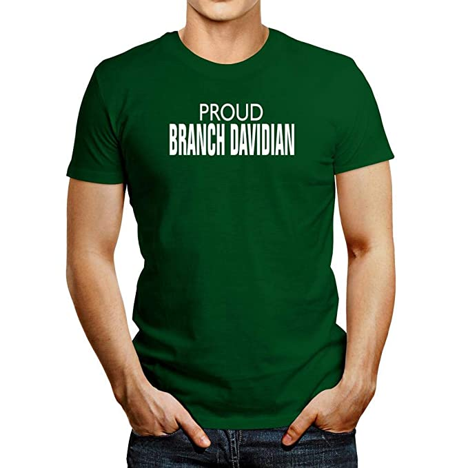 8e77e0fba8e Amazon.com  Idakoos Proud Branch Davidian T-Shirt  Clothing