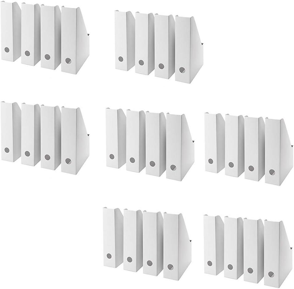 IKEA Fluns Magazine File, White (Set of 28)