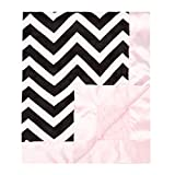 My Blankee Chevron Minky Black/White w/ Minky Dot - Best Reviews Guide