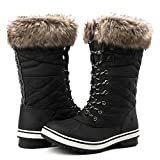 Globalwin Women's 1730 Waterproof Winter Boots (11 D(M) US Women's, 1732Black)