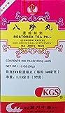 Restorex Tea Pill (Ba Zhen Wan) 200 Pills X 12