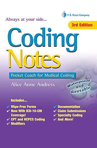 Coding Notes Pocket Coach for Medical Coding