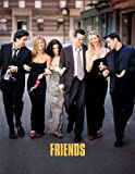 Friends Framed Poster TV L 11 x 17 Inches - 28cm x 44cm Jennifer Aniston Courteney Cox Lisa Kudrow Matt LeBlanc
