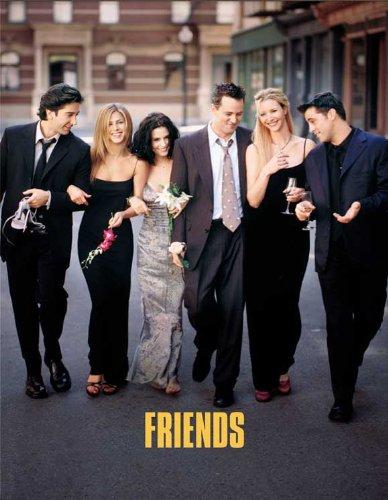 Click for larger image of Friends Framed Poster TV L 11 x 17 Inches - 28cm x 44cm Jennifer Aniston Courteney Cox Lisa Kudrow Matt LeBlanc