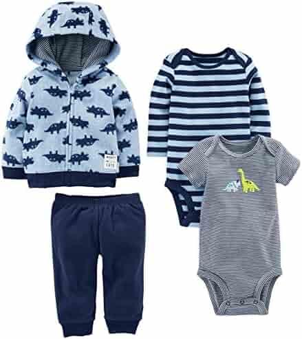 Simple Joys by Carter's Boys' 4-Piece Fleece Jacket Set
