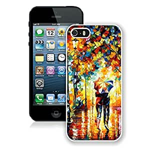BINGO wholesale Rain Day Street iPhone 5 5S Case White Cover