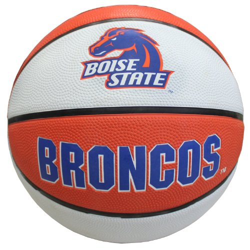 NCAA Boise State Broncos Collegiate Deluxe Official Size Rubber Basketball