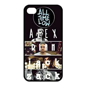 the Case Shop- Customized All Time Low Band TPU Rubber Case Cover Skin for iPhone 4 and iPhone 4S , i4xq-732 by ruishername
