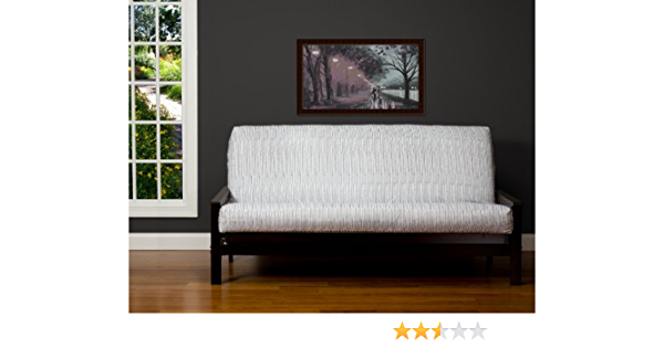 Removable futon Cover Fabric only. Futon Frame and futon Mattress Sold Separately SIS Covers Wavelength Futon Cover Fabric Twin