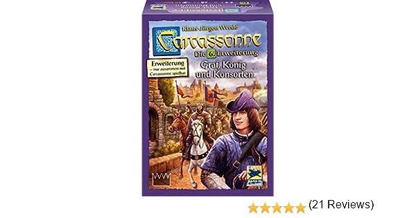 Schmidt Spiele Hans en Suerte 48266 – Carcassonne, GRAF, König y konsorten, expansión 6: Amazon.es: Juguetes y juegos