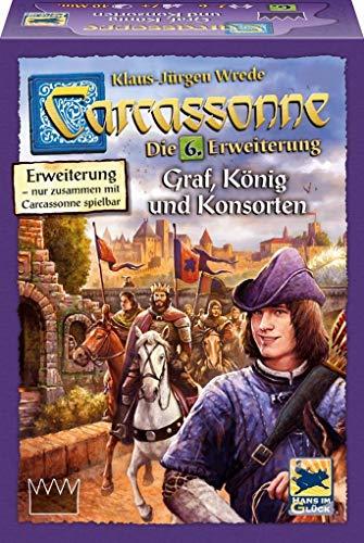 [해외]Carcassonne. Graf Konig und Konsorten Erweiterung 6 / Carcassonne. Graf Konig und Konsorten Erweiterung 6
