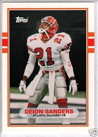 1989 Topps Traded Baseball #110T Deion Sanders Rookie Card