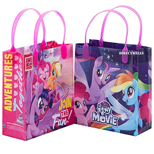 Little Pony Join The Fun 12 Authentic Licensed Reusable Medium Goodie Gift Bags 8