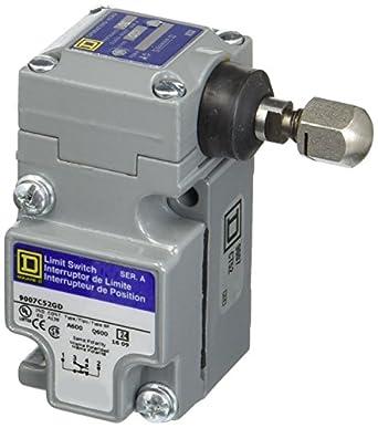 Square D 9007 C52gd Heavy Duty NEMA interruptor de límite, tamaño ...