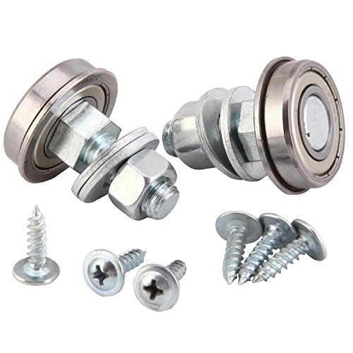XiKe Stem Rocker Assembly Bearing 1-1/8 OD, Glider and Rocker Hardware, Furniture and Miscellaneous, with Mounting Hardware Bearing, Replace 124094. (2)