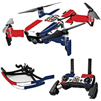 MightySkins Skin for DJI Mavic Air Drone - Dominican Flag | Max Combo Protective, Durable, and Unique Vinyl Decal wrap cover | Easy To Apply, Remove, and Change Styles | Made in the USA