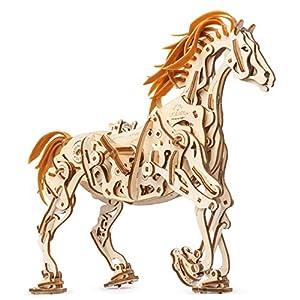 Ugears 70054 Puzzle A Forma Di Cavallo In Legno Modellino Ecologico