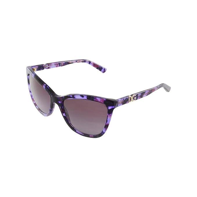 Dolce & Gabbana DG4193M, Gafas de Sol para Mujer, Morado ...