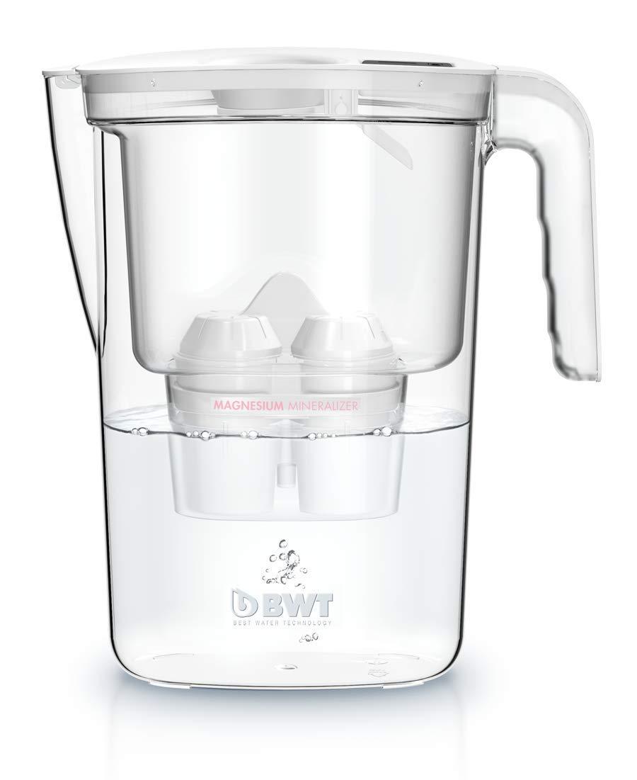 BWT Vida Manual - Jarra filtradora de agua con magnesio 2,6 L Blanco: Amazon.es: Hogar