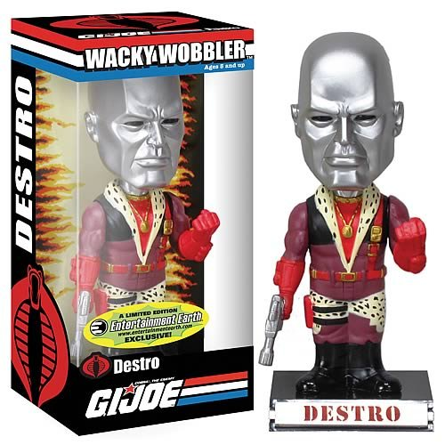 Funko Limited Edition Wacky Wobbler G.I. Joe Exclusive Bobble Head Pimp Daddy ()