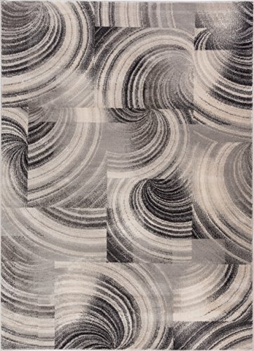 Effortless Intricacies Yellow & Grey Area Rug 8 x 11 (7'10
