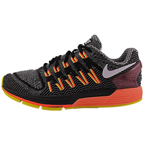 Nike Wmns Air Zoom Odyssey, Zapatillas de Running para Mujer Negro (Black / White-Sail-Hyper Orange)