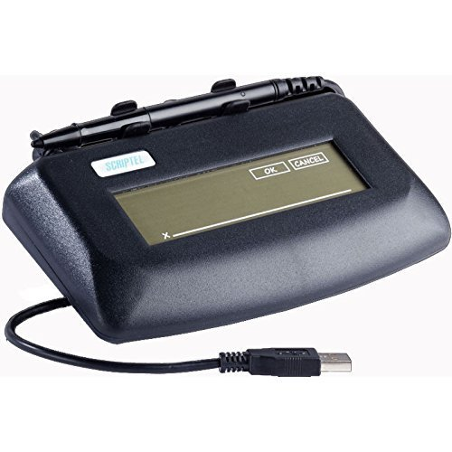 Scriptel ST1401 500ppi Resolution Electronic signature pad by Scriptel