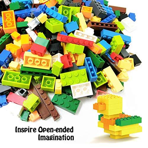 3 otters 1000PCS Building Bricks Set, Classic Creative Building Blocks Birthday Gift for Kids