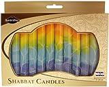 Majestic Giftware SC-SHSF-O Safed Shabbat Candle, 5-Inch, Fantasy Orange, 12-Pack