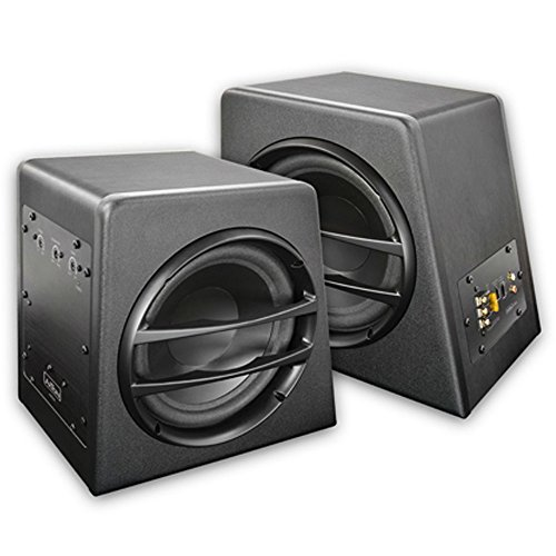Axton Active Subwoofer Box Reflex Subwoofer And Woofer Amplifier 2X 20 Cm by Axton (Image #1)