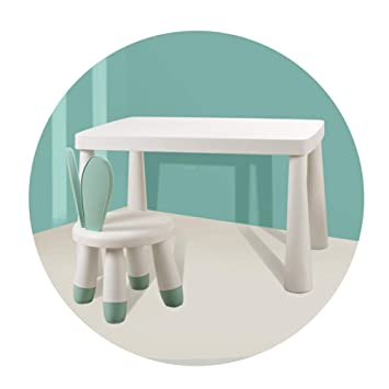 SSHHM Juego de mesa y silla para niños Material de Los Pp Del ...