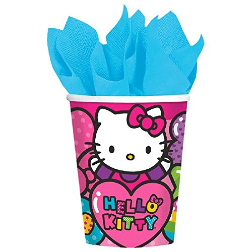 American Greetings Hello Kitty Rainbow Paper Cups,