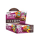 Free2b Foods Rice Chocolate Sun Cups Gluten-Free, Dairy-Free, Nut-Free and Soy-Free - 2-Cups (Pack of 12)