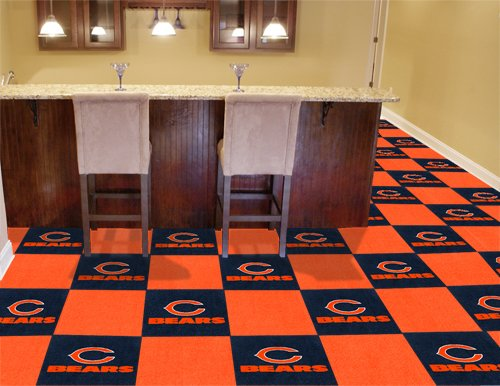 Bear Tile (NFL - Chicago Bears Carpet Tiles)