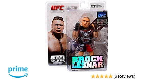 UFC Ultimate Collector Series 8 Brock Lesnar figurine Limited Edition