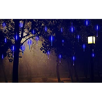 Amazon Com Omgai Led Meteor Shower Rain Lights