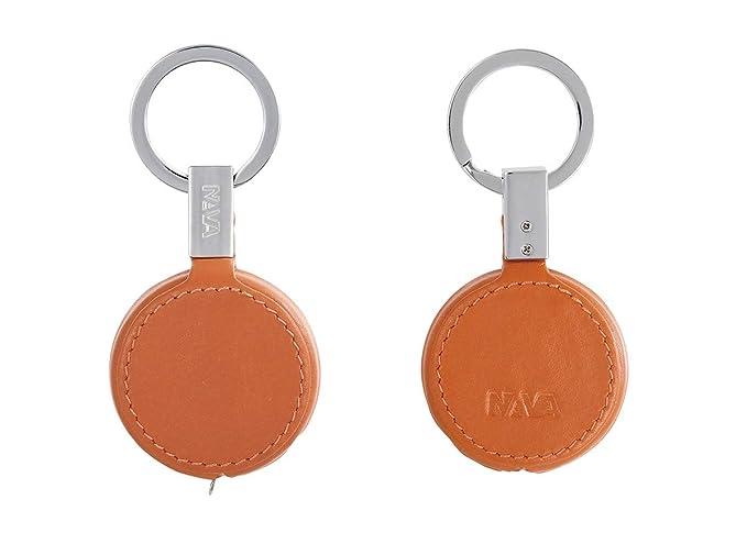 NAVA - Llavero con cinta métrica integrada, color naranja ...