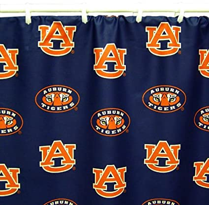 Image Unavailable Not Available For Color Auburn Tigers Printed Shower Curtain