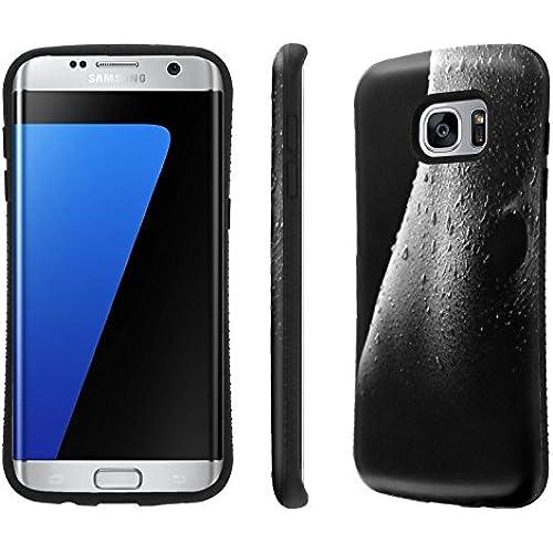 Galaxy S7 Edge / GS7 Edge Case, [NakedShield] [Black Bumper] Heavy Duty Shock Proof Armor Art Phone Case - [Female Body] for Samsung Galaxy S7 Edge / GS7 Sales