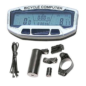 LHGS SD558A - Velocímetro Digital para Bicicleta, con Pantalla LCD