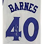 Harrison Barnes Golden State Warriors Signed Autographed White #40 Jersey