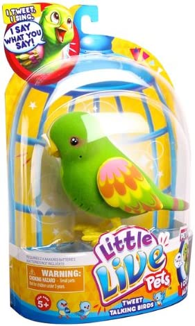 Little Live Pets Bird #4 Silly Billie Bird Single Pack Playset Moose Toys 28020