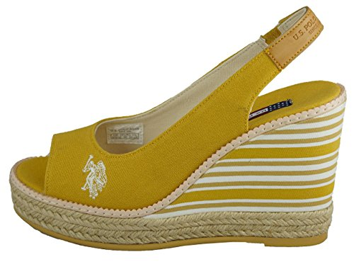 Fashion Romy polo U Sandals s Women's Red HIxgxqtw4