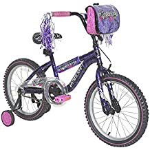 "Dynacraft Girls Mysterious Bike, Purple/Pink/Black, 18"""