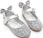 PPXID Girl's Shiny Sequins Sweet Bowknot Little Princess S